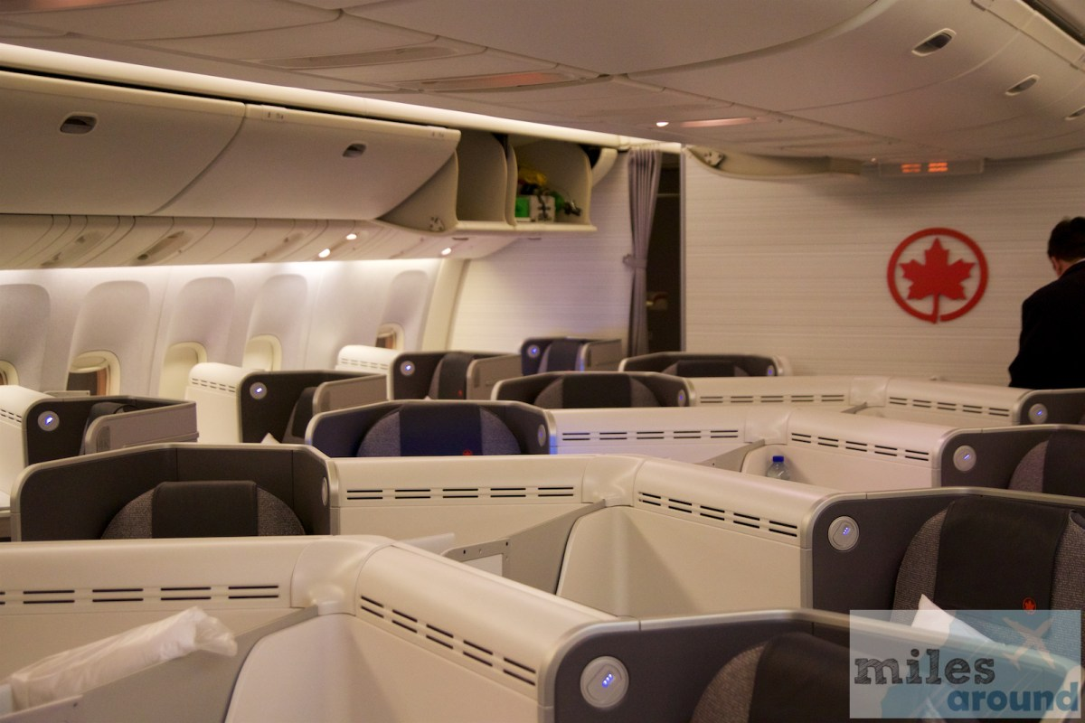 Air Canada Business Class in der Boeing 777-300ER nach London